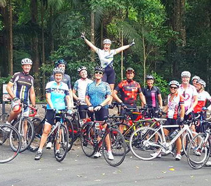 Gold Coast ladies cycling club Madonna Velo, call Storm Cycles to join the all girls cycling club.