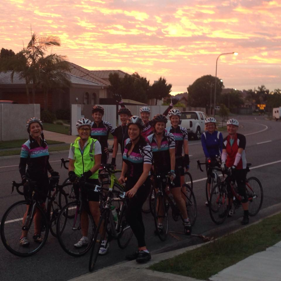 MadonnaVelo Gold Coast ladies social cycling club