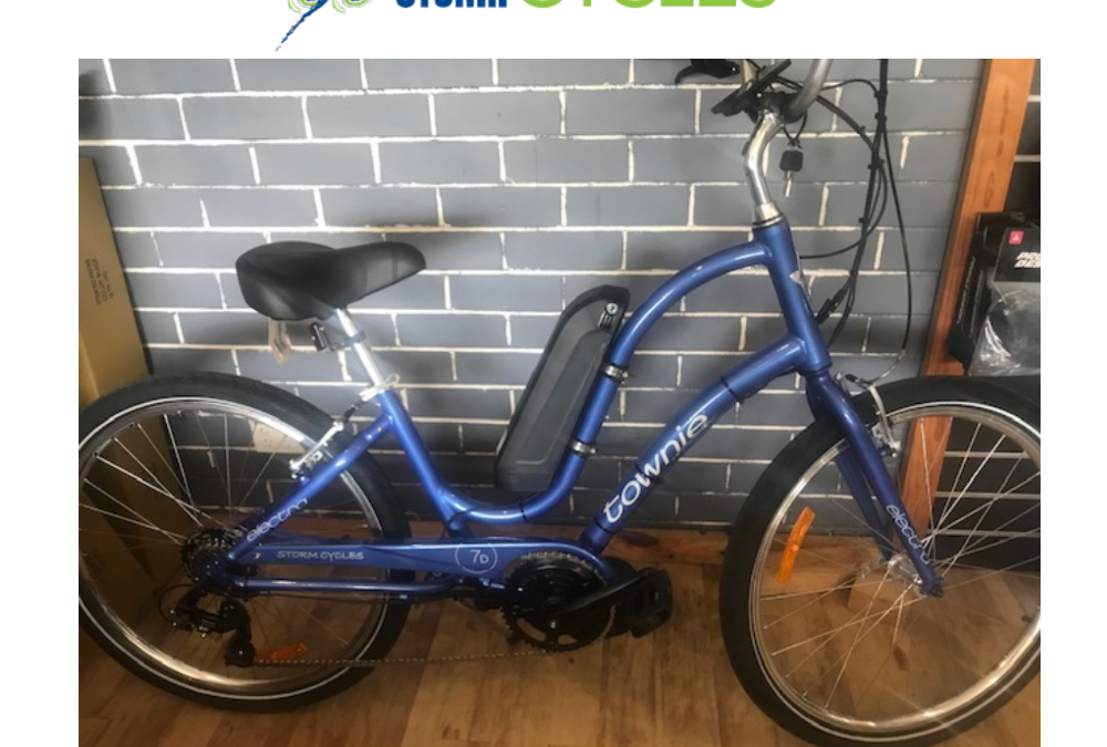 Townie e-bike upgrade from $1,700